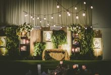 Garden Wedding by FJ Sionson Flowers and Events