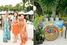 MARK AND GISELLE SHANGRILA WEDDING by First of April