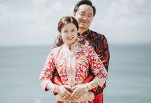 A modern with  the elegance of oriental, Maggie & Galen wedding by Varawedding