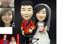 Couple Figure (Type A-realistic) Wedding Theme by Zakti Laboratory Inc