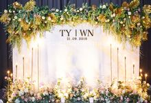 Wei Nian & Tek Yit by Glitz&Glam Studiobooth