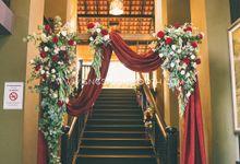 Wedding at Gita Bayu - Cheah & Vivienne by Glitz&Glam Studiobooth