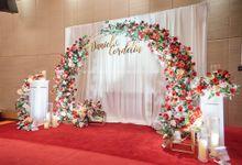 Bright Red & Crispy White Reception - Daniel & Cordelia by Glitz&Glam Studiobooth
