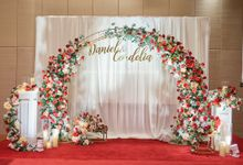 Bright Red & Crispy White Reception - Daniel & Cordelia by Glitz&Glam Studiobooth