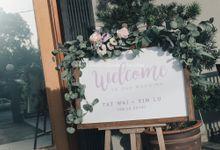 Floral Rustic ROM - Tat Wai & Yin Lu by Glitz&Glam Studiobooth
