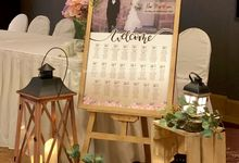 Sweet Rustic Wedding - Khar Mun & Sara by Glitz&Glam Studiobooth