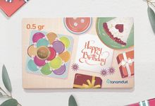 Emas Logam Mulia HRTA - Birthday Series by tanamduit emas