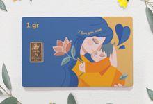 Emas Logam Mulia HRTA - Love Series by tanamduit emas