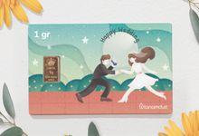 Emas Logam Mulia Hartadinata - Wedding Series by tanamduit emas