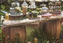 Rustic Dessert Table by Gordon Blue Cake