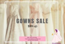 Wedding Gowns on SALE by Makeupwifstyle