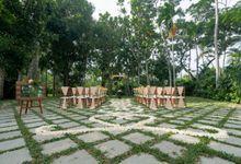 Green Patio Wedding - Peach Theme by Kayumanis Nusa Dua Private Villa & Spa