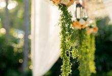 Intimate Garden Dinner - Peach Theme by Kayumanis Nusa Dua Private Villa & Spa