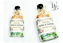 Mixed Nuts In A Bottle by Whipped Love