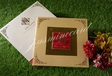 Hardcover (Click For Other Choices) by Jasmine Invitation Card
