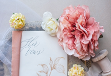 Wedding Vow Books by Grace and Truly Calligraphy