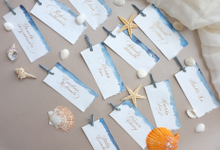 Placecards for Launching Event by Grace and Truly Calligraphy