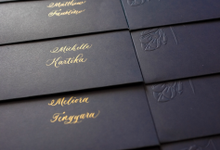 Calligraphy for Envelope Addressing by Grace and Truly Calligraphy
