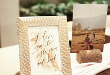 Vivie Bridal Shower  by Grace and Truly Calligraphy