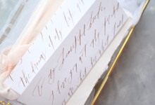 Love letter by Grace and Truly Calligraphy