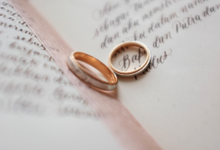 Vows Set - T & D by Grace and Truly Calligraphy