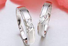Tiaria Graceful Diamond Ring Perhiasan Cincin Pernikahan Emas dan Berlian by TIARIA