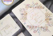 PUTRI & GIRI (Neat Grey Envelope Ornament Luxury) by Sanggar Undangan