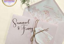 SAMUEL & FENNY (Neat Pink Blurry Mica Luxury) by Sanggar Undangan