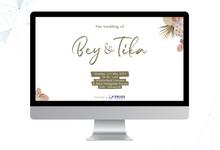 Wedding Reception of Bey & Tika by ERUGO Digital Guest Book