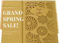 Offer ON CUSTOM WEDDING Indian stationaries by 123WeddingCards