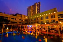 Wedding by The Pool by grandkemang Jakarta