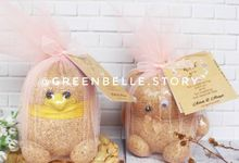 Wedding Addi & Attiya - Mini Grassdoll Tulle by Greenbelle Souvenir