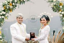 Wedding Vira & Vito - Sukulen Goni Pita 8cm by Greenbelle Souvenir
