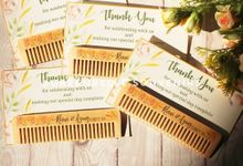 Wedding Riani & Agung - Wood Comb by Greenbelle Souvenir