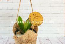 Wedding Of Ika & Dwi - Sukulen Buket Goni by Greenbelle Souvenir