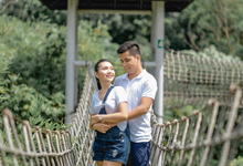 Eman & Efrelyn engagement by GreenTale Photography