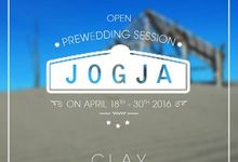 Open Pre Wedding Session to Jogja by Bride by Clay Indonesia