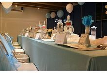 Tableset decoration by mirrorart decoration