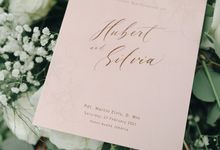 The Wedding of Hubert and Silvia by Elssy Design