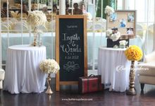 Ingrida & Wanda Proposal by Buttercup Decoration