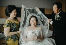 The Wedding of Dennis & Kherin by Huemince