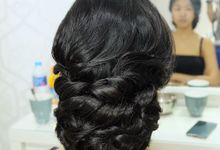 Hairstyles For Wedding & Party by Makeup By Luvina Ho
