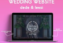 Wedding Invitation Dede & Lensi by Hadiryaa (Web & Mobile Invitation)