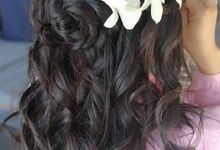 Hair Styling by Wow Makeup in Phuket by Wow Make Up in Phuket