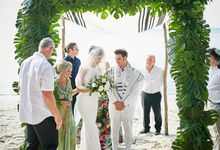 Bianca & Rubens Jewish Ceremony by Samui Weddings and Events