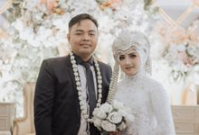 Wedding of Hanifah & Alvi by Halonapict