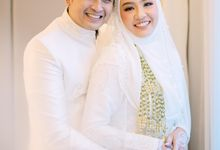 Akad Nikah Hamas Syahid & Marcellia Dwi by LAKSMI - Kebaya Muslimah & Islamic Bride