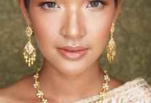 My Thailand Bride Unnpakhdi  by Hana Gloria MUA