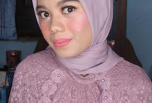 Bridesmaid Ms Nabilah  by Hana Gloria MUA