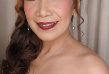 Mama Varian Reception Night Make-up Look by Hana Gloria MUA